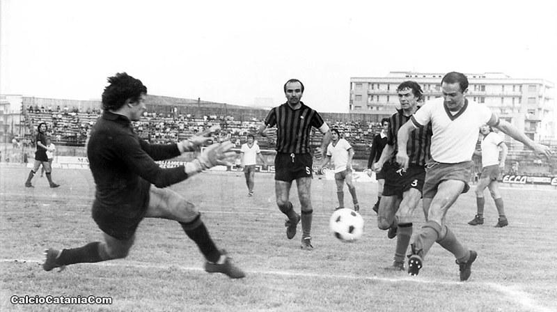 Lorenzo Barlassina in azione (Foto: Tutto il Catania minuto per minuto)