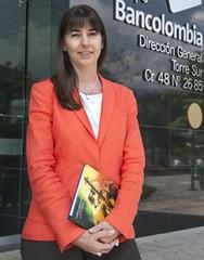 María Cristina Arrastía, vicepresidenta corporativa de Personas y Pymes de Bancolombia