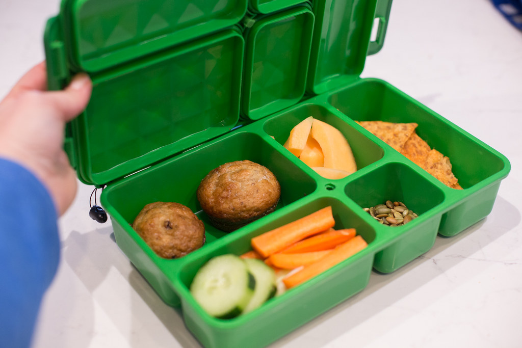 Bento boxes allow for a decrease in usage of individual packaging.
