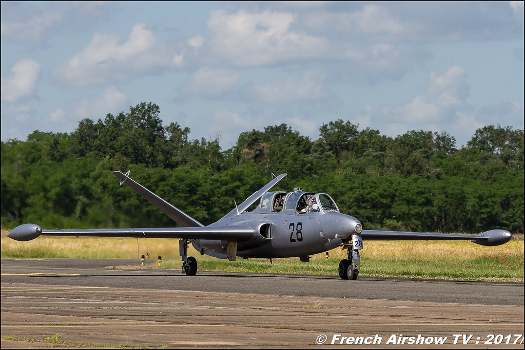 Fouga CM-175 Zephyr - F-AZPF , Fly in LFBK 2017 , Fly-in Saint-Yan 2017 , Meeting Aerien 2017