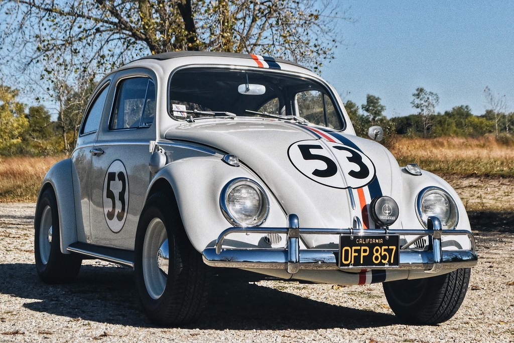 herbie  love bug  volkswagen beetle replica   flickr