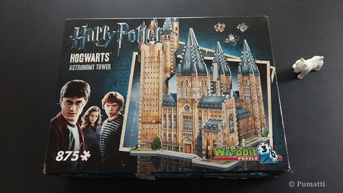Wrebbit 3D 875 Harry Potter Hogwarts Astronomy Tower (1) | by Pumatti