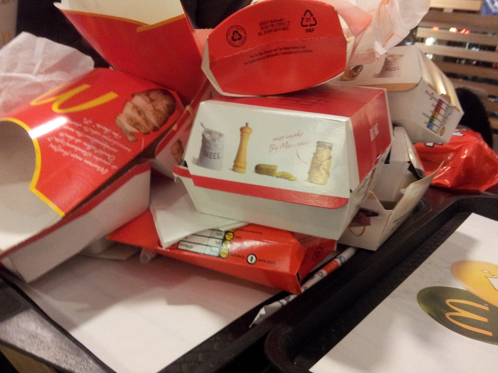 麥當勞。圖片來源:www.snack-nieuws.nl(CC BY 2.0)