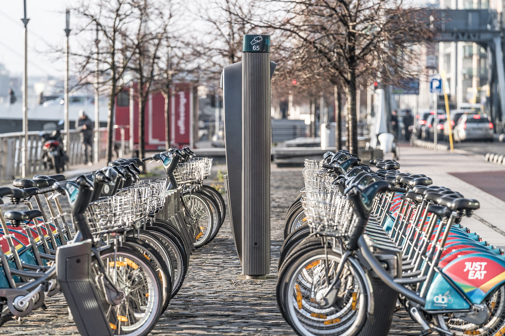 DUBLIN BIKES DOCKING STATION 65 002