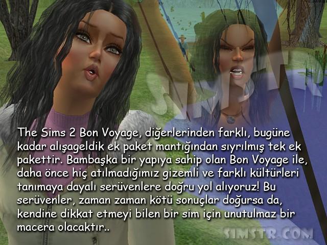 The Sims 2 Bon Voyage Kızım Senem'le Bon Voyage Rehberi Giriş