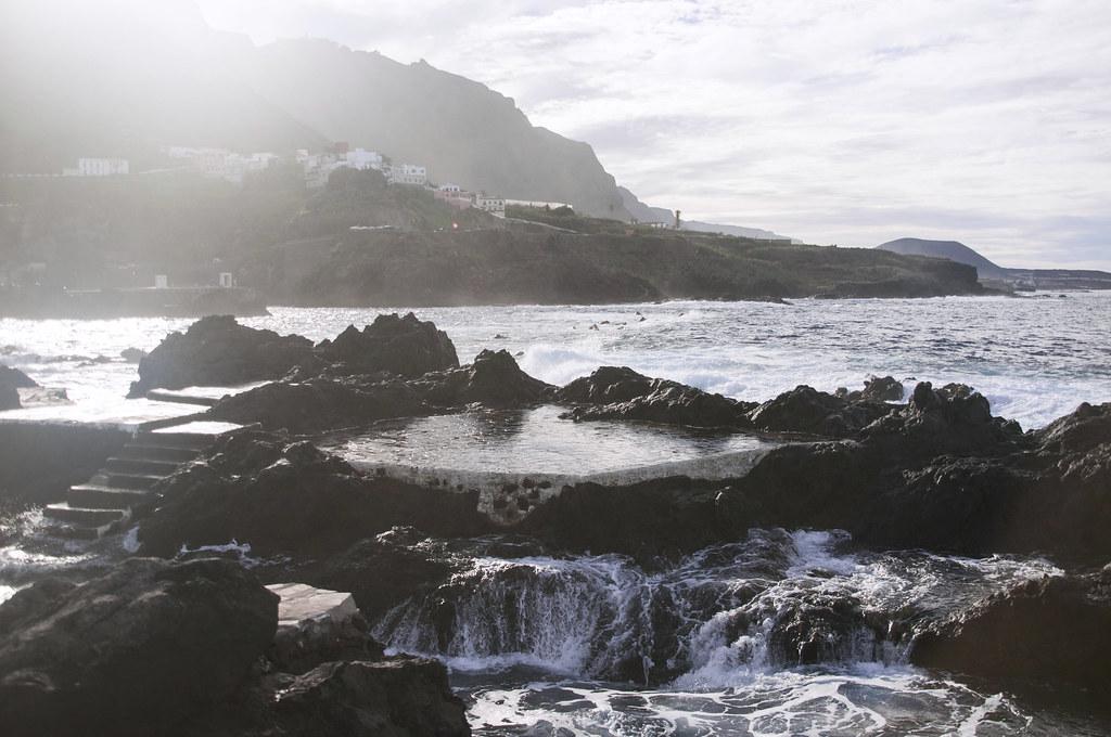 naturalne baseny skalne w Garachico