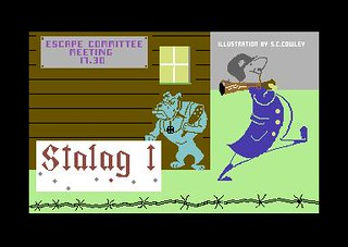 Stalag 1 for Commodore 64 | by Deep Fried Brains