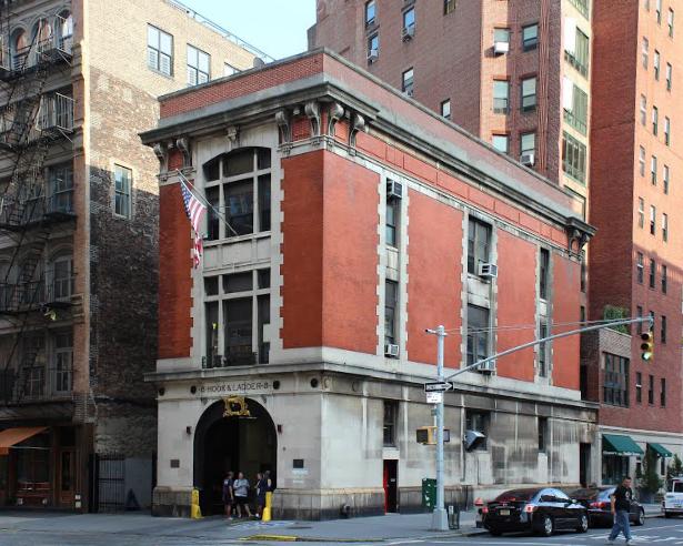 Lugar donde se rodó los Cazafantasmas en Nueva York