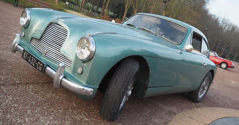 Aston Martin DB2 / 1955 - Suresnes Janvier 2018 38976517724_3770fc3899_c