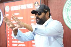 Touch Chesi chudu Movie Working Stills