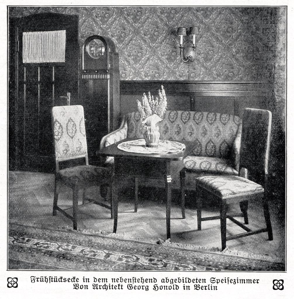 Berliner Zimmer Als Speisezimmer Eingerichtet Frühstückse Flickr