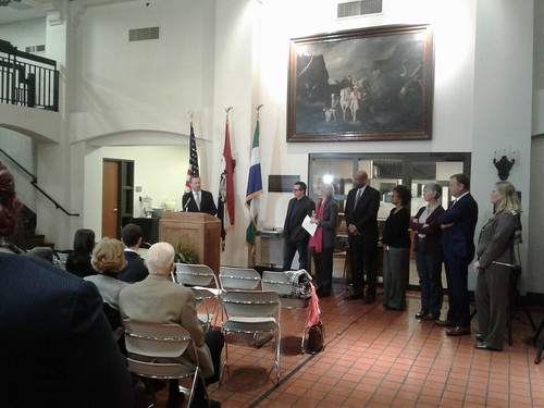 TREECE INTRODUCES BICENTENNIAL COMMISSION:  CoMo Mayor talks of past and future