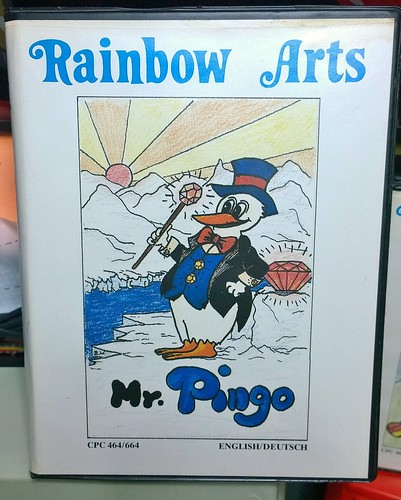 Mr Pingo (Rainbow Arts, Amstrad CPC) | by Deep Fried Brains