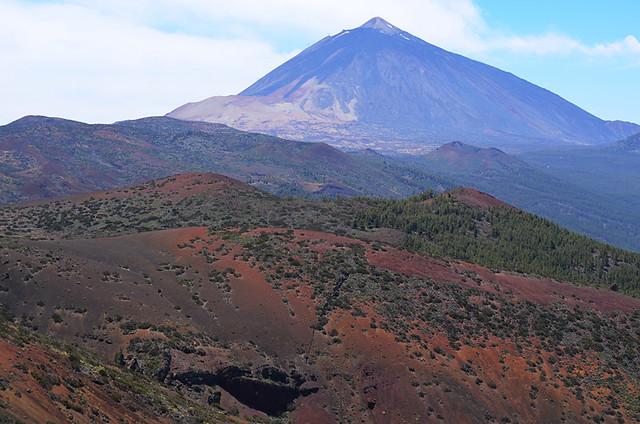 View from La Tarta, Tenerife