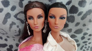 Séduisante Elyse Jolie and Net-A-Porter Elyse | by Fashion Royalty & Barbie doll Collector