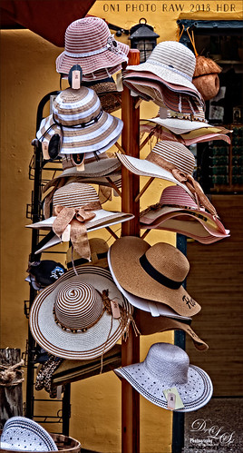 Image of Hat Rack in St. Augustine using On1 Photo Raw 2018 HDR software