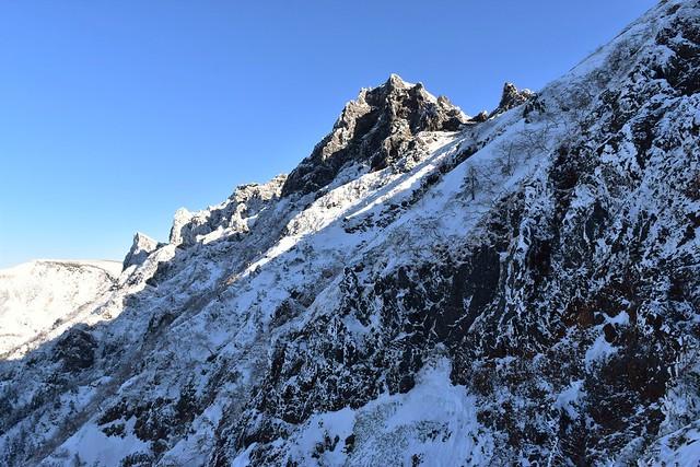 冬の横岳(八ヶ岳)