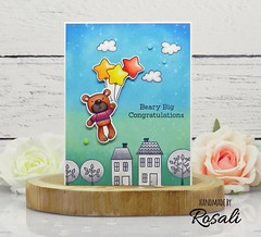 Beary Big Congratulations by ilovestamping