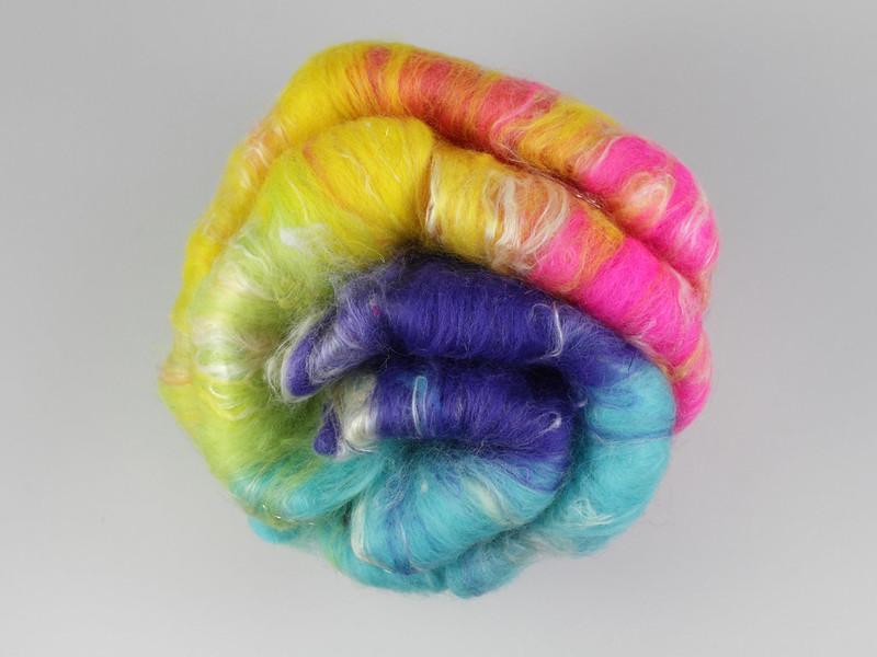 'Highlighter' rainbow gradient batt from Spin City