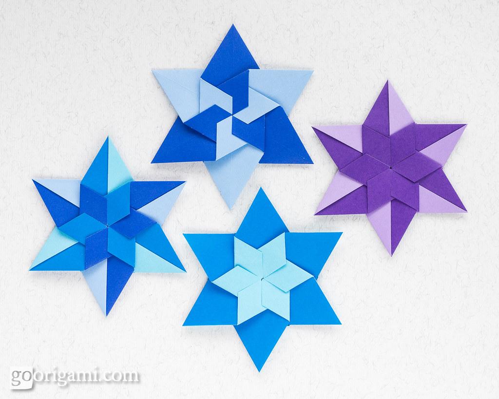 Modular Origami Stars   Modular Origami Stars (Maria ... - photo#42