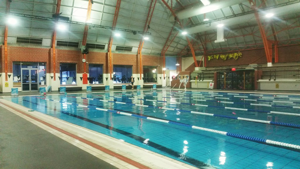 One End Of An Olympic Sized Swimming Pool Inside A Brick B Flickr