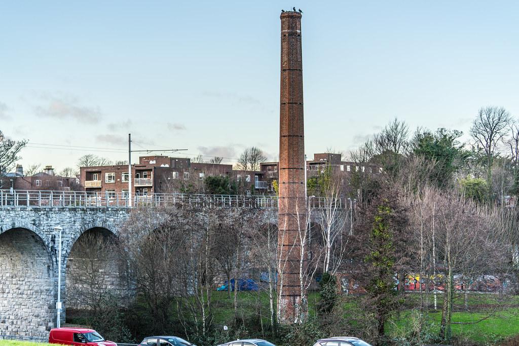 NINE ARCHES TRAM BRIDGE IN DUBLIN 002