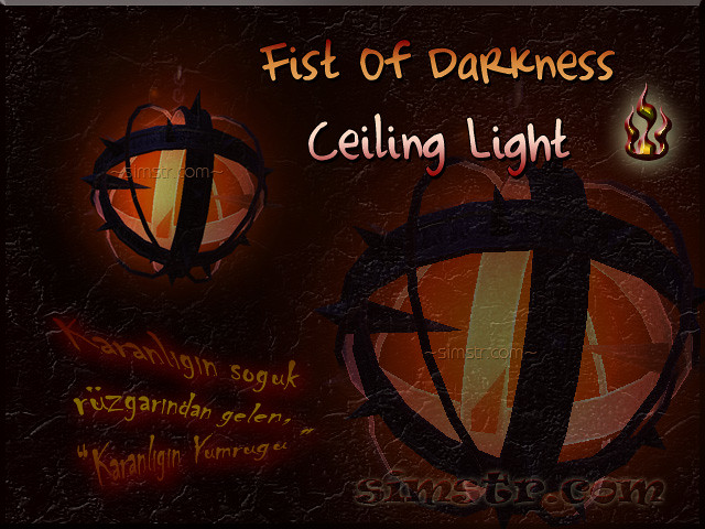 The Sims 2 Apartment Life Apartman Hayatı Witchiness Cadılık Fist of Darkness