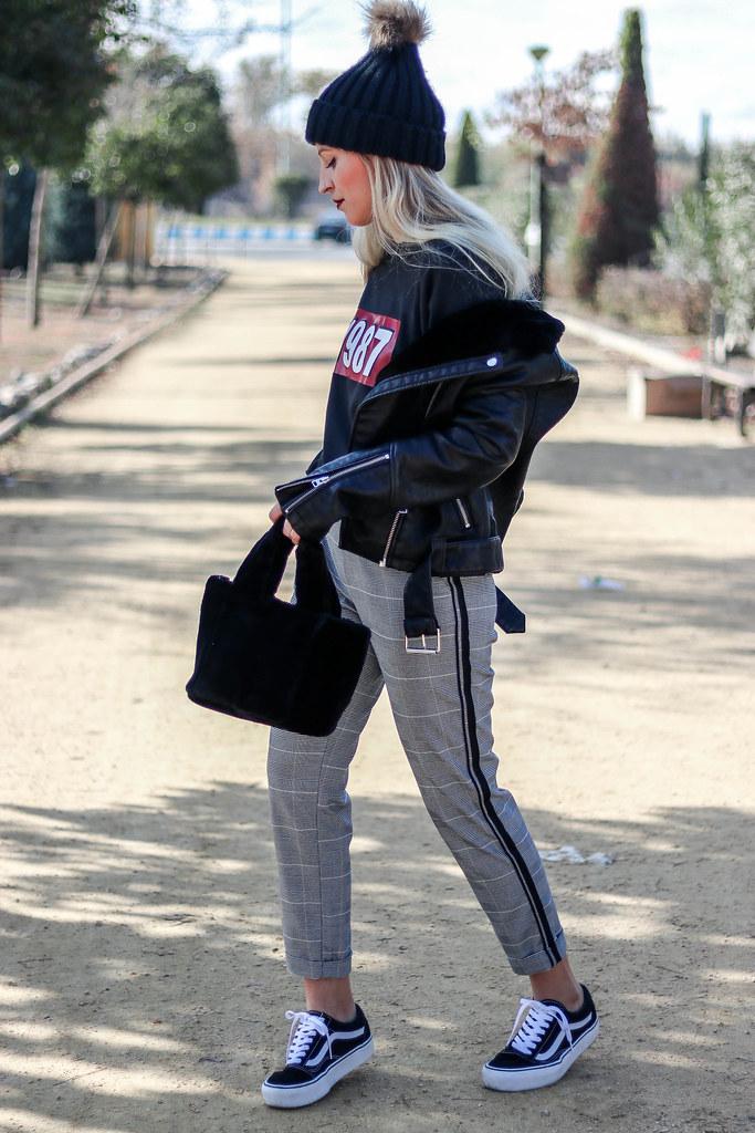 Sabrina Skool Old Blogger Actitud Sweatshirt Doll Vans amp; By Fashion T07RHRq