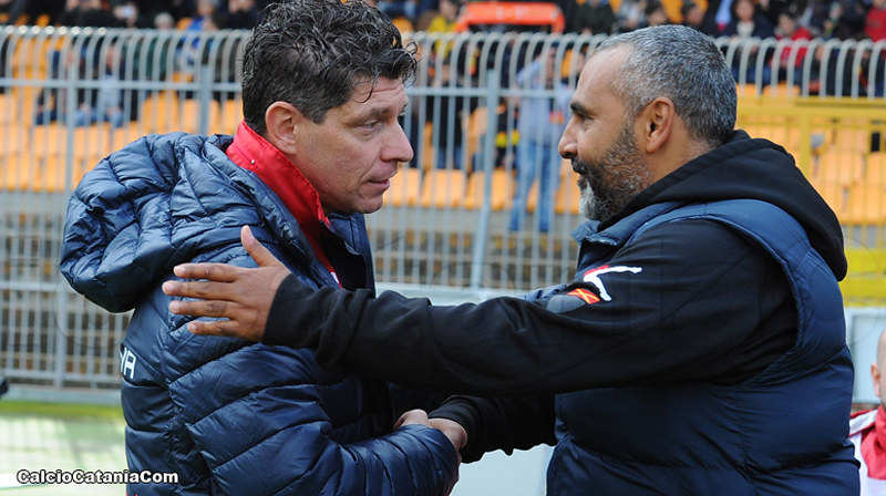 Richard Vanigli insieme a Fabio Liverani