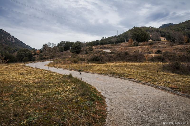 Camino a Sant Quirze de Pedret