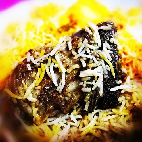 food Arsenal Special Mutton Biryani...