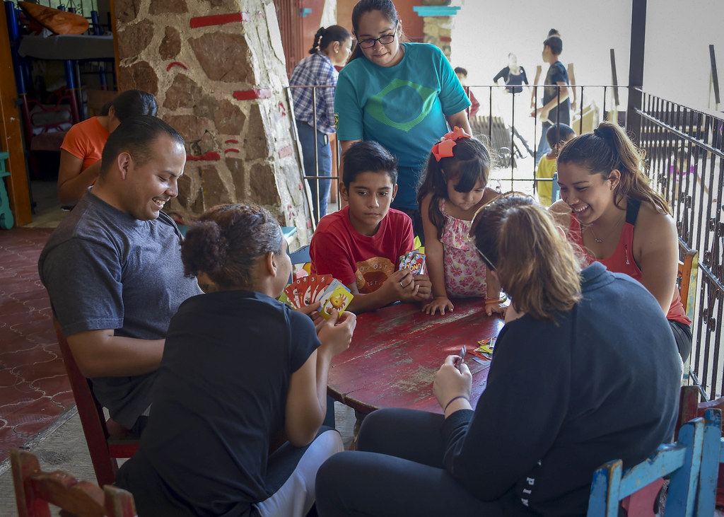 Sailors from the future amphibious transport dock ship USS Portland (LPD 27) and Assault Craft Unit (ACU) 5 participated in a community service project at a local orphanage in Manzanillo, Mexico, Jan. 17.