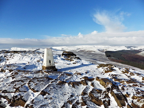 Win Hill trig pillar