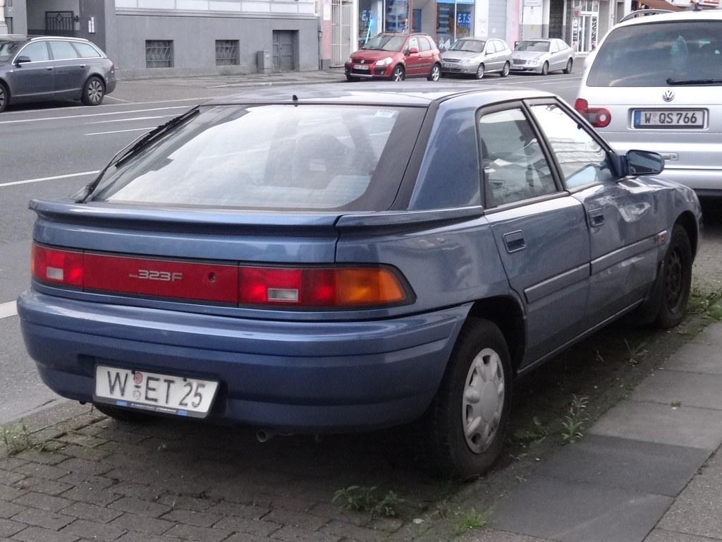 1990s mazda 323 f the 323f was a five door hatchback sold flickr 1990s mazda 323 f by harrynl altavistaventures Images