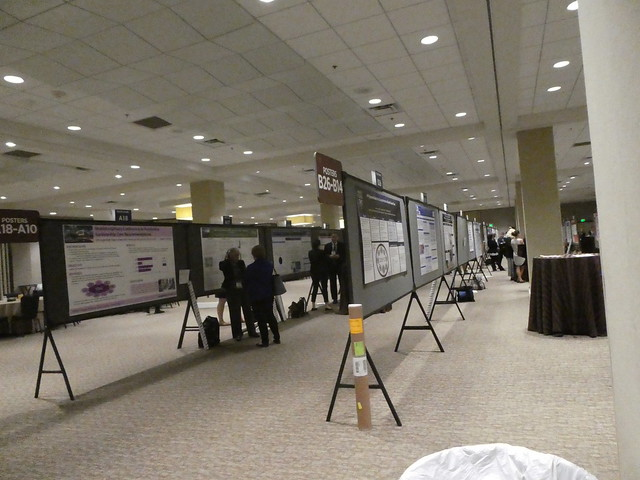 Poster session at ASCO Survivorship Symposium