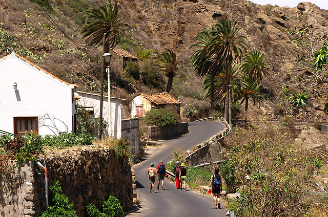 Walkers, La Gomera, Canary Islands
