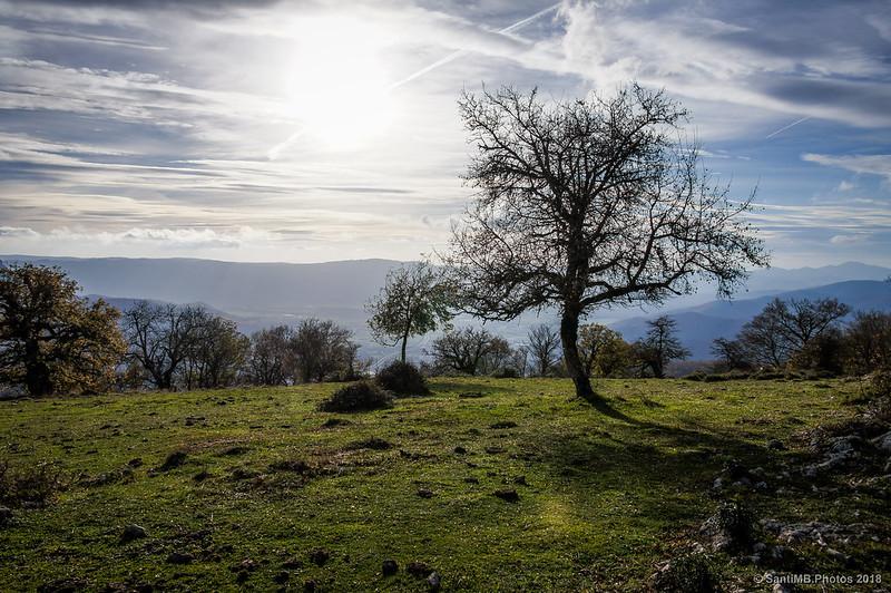 Claro al oeste de San Miguel de Aralar