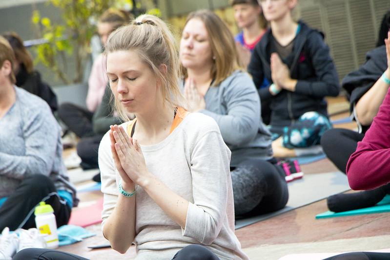 Yoga brengt al het goede in een mens naar boven