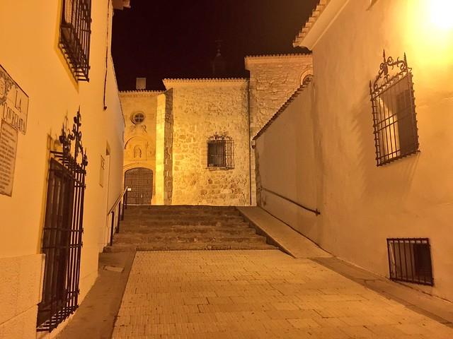Belmonte por la noche