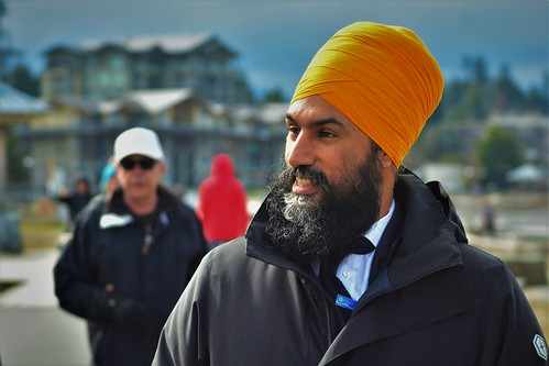Jagmeet Singh Party leader of New Democratic Party,   Parksville Beach Jagmeet and greet | by polkshots