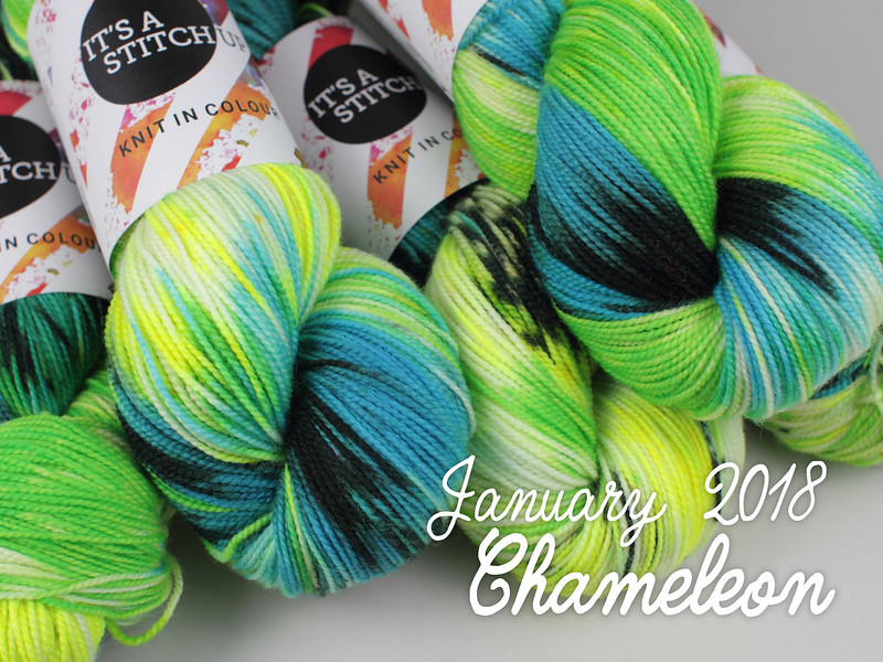 Yarn Club January 2018: 'Chameleon'