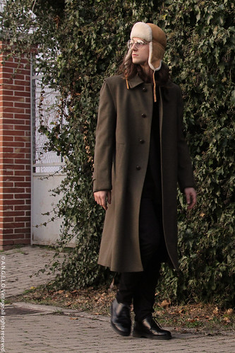Vintage Loden Coat 1970s angelo outerwear green