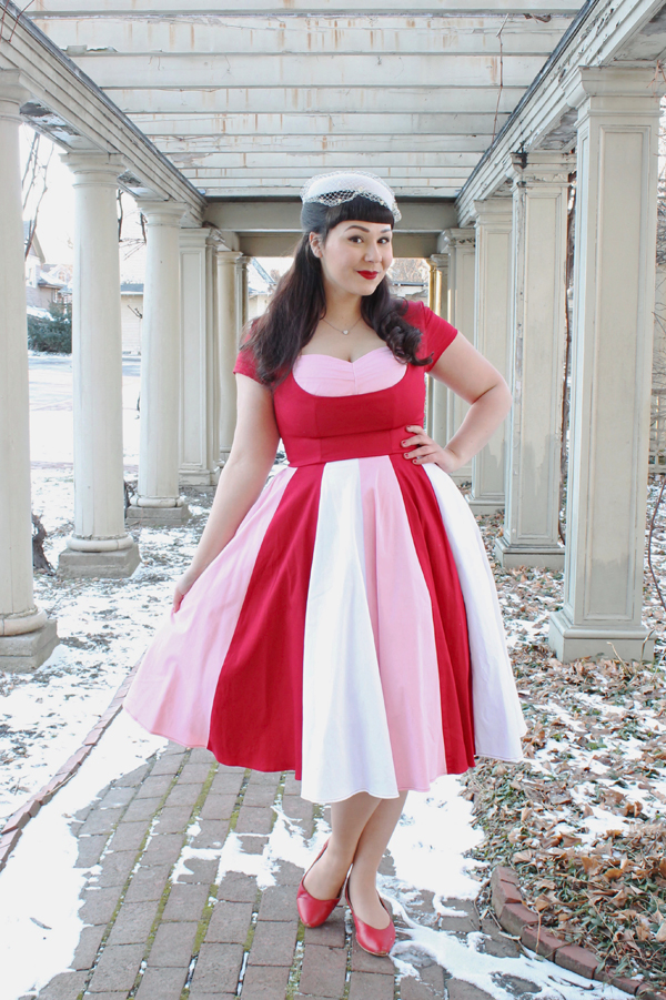 valentine pinup outfit