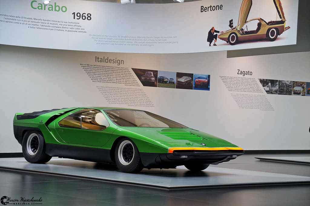 alfa romeo carabo the 1968 alfa romeo carabo concept car flickr