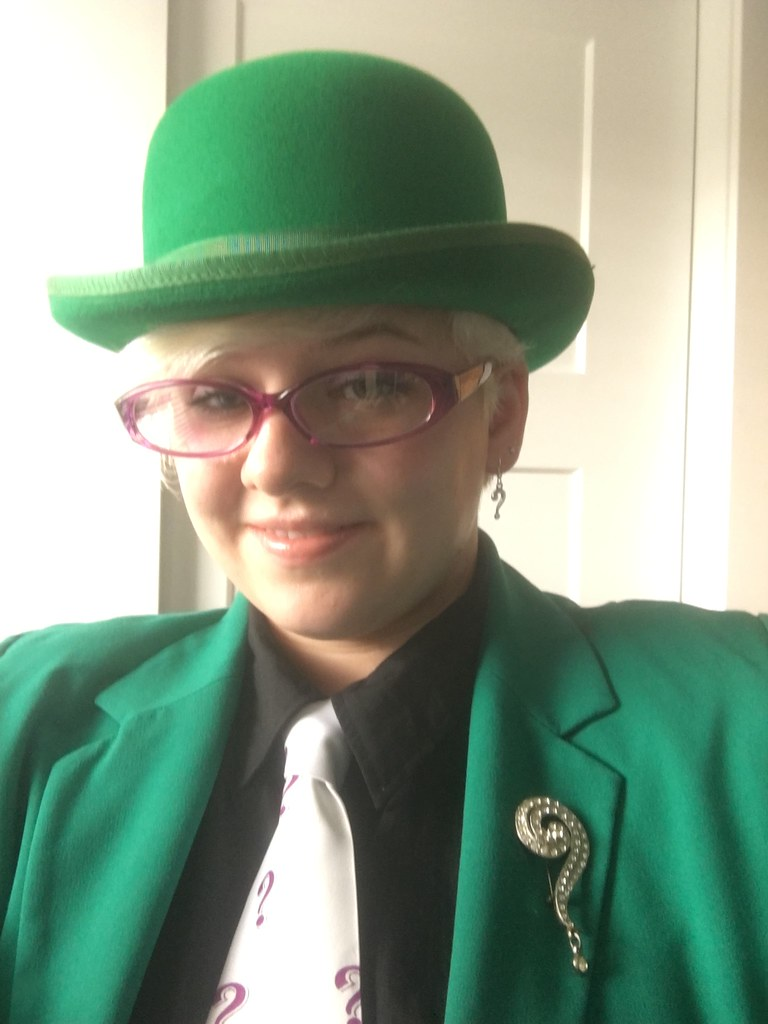 Halloween Costume The Riddler I Was The Riddler This Pa Flickr