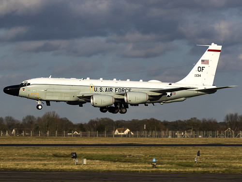 United States Air Force | Boeing RC-135W | 62-4134 | by MTV Aviation Photography