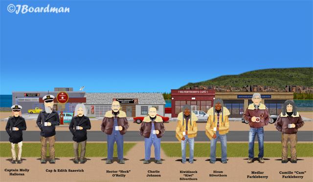 The citizens of Danger Bay bid us Farewell ©JBoardman