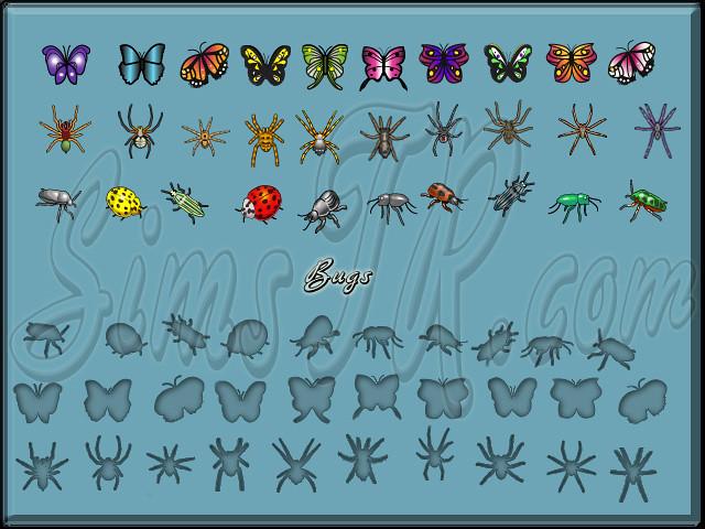 The Sims 2 FreeTime Bugs Böcekler