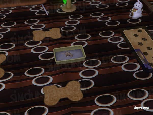 The Sims 2 Pets Cat Litter Box