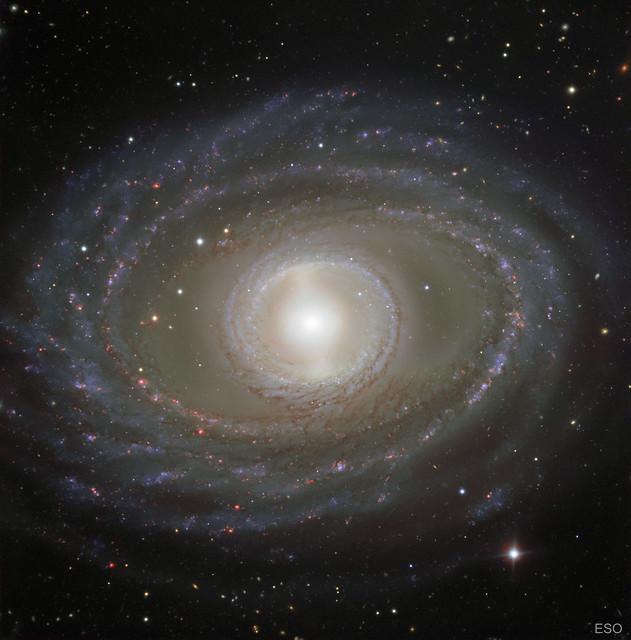VCSE - Az NGC 1398 spirálgalaxis - ESO